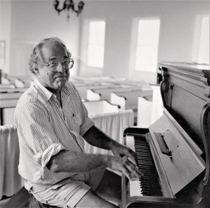 The Rev. William Sloane Coffin in the United Church of Strafford circa 1983